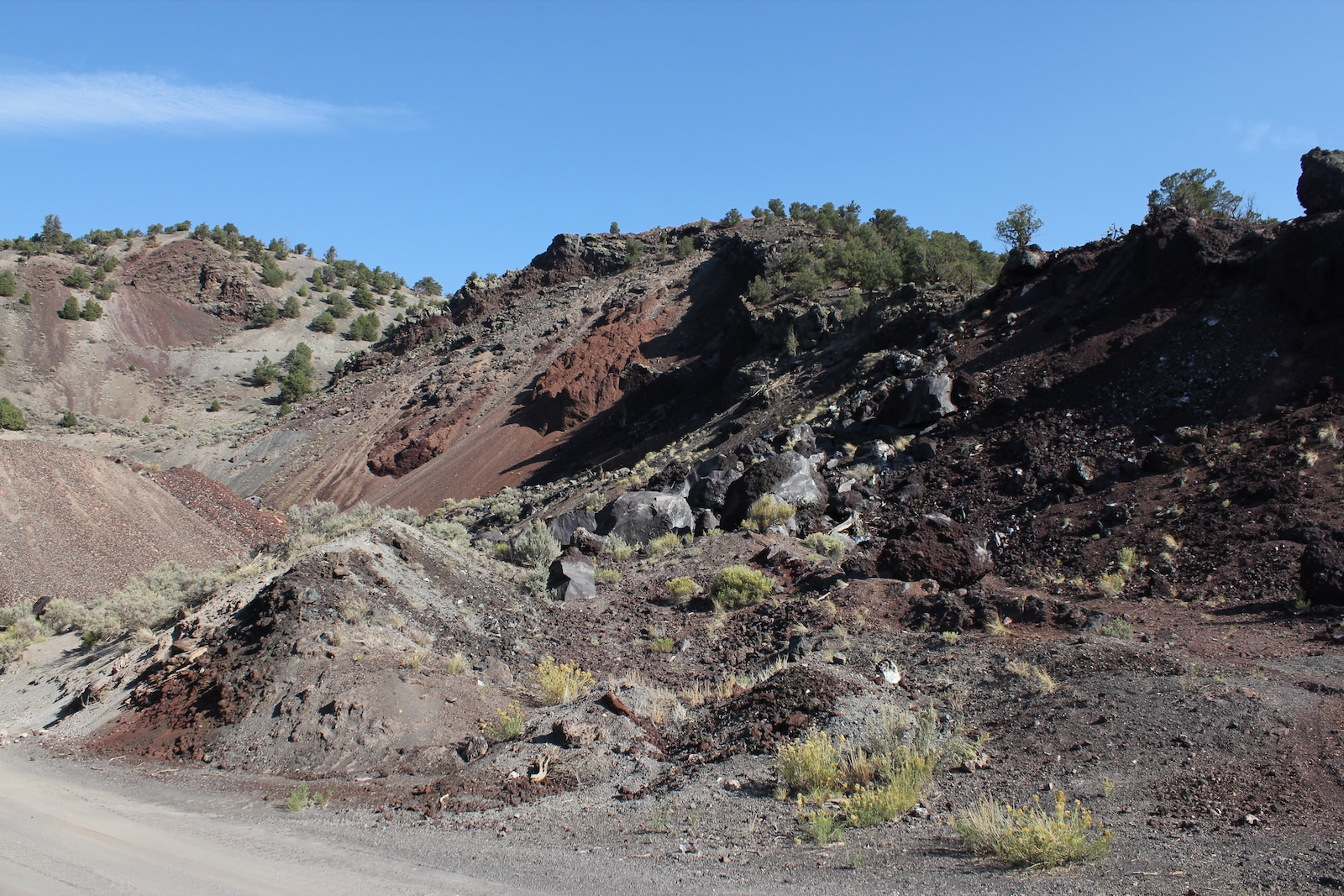 Dotsero Colorado Volcano Lava Flow
