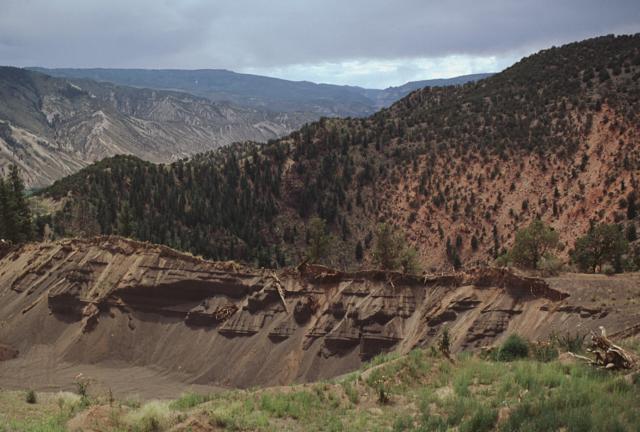 Dotsero Maar Volcano Colorado