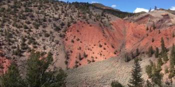 Dotsero Volcano Crater Colorado
