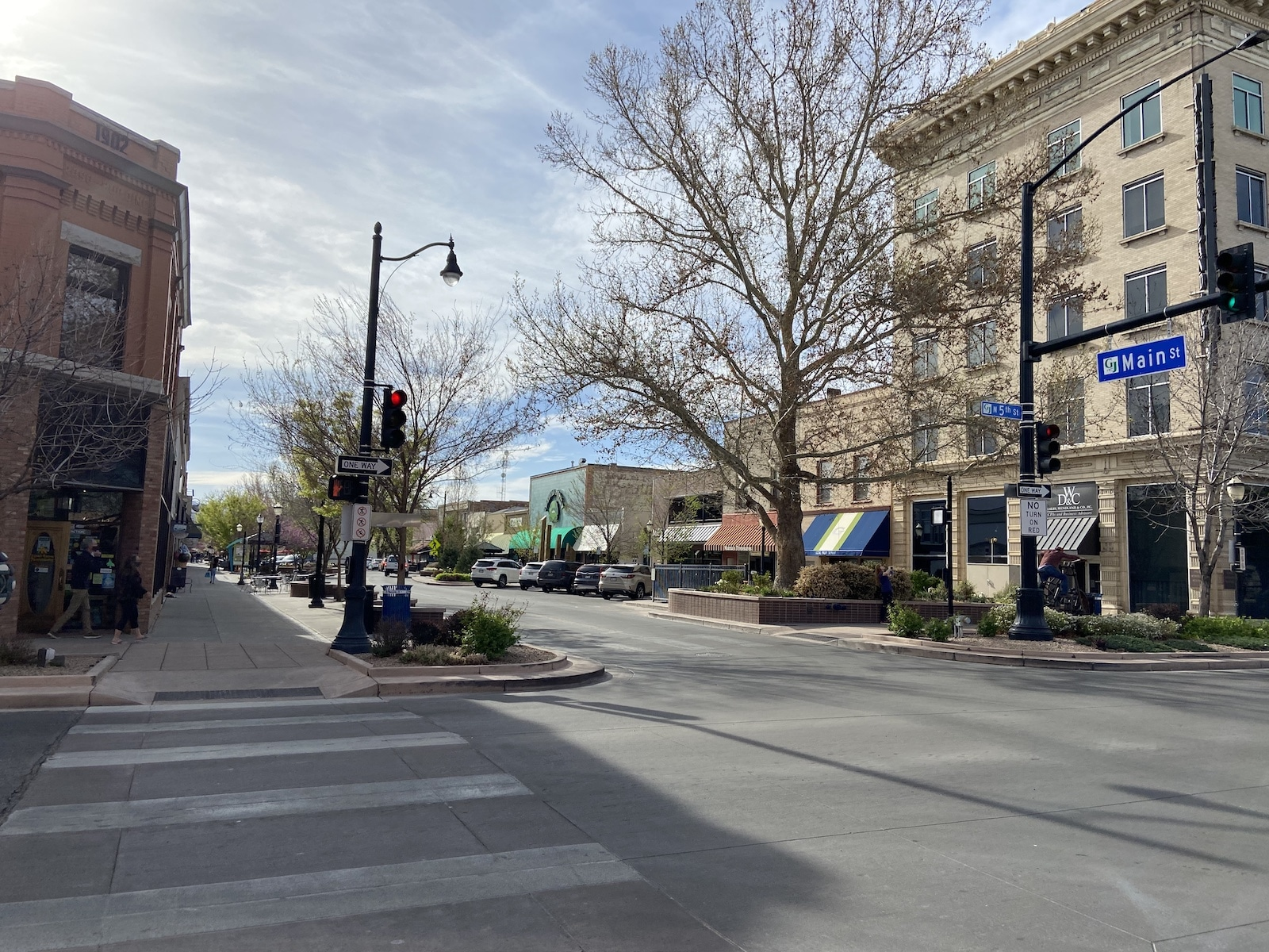 Downtown Grand Junction Colorado Main Street