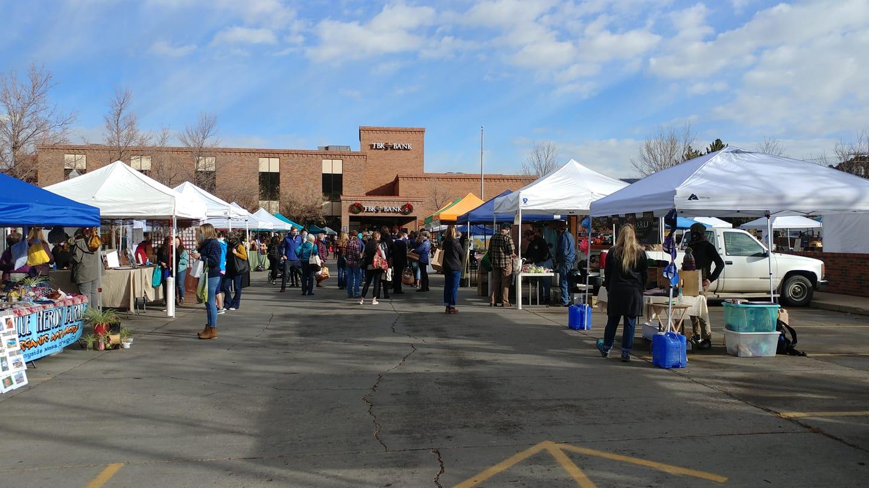 Image of the Durango Farmer's Market in Colorado