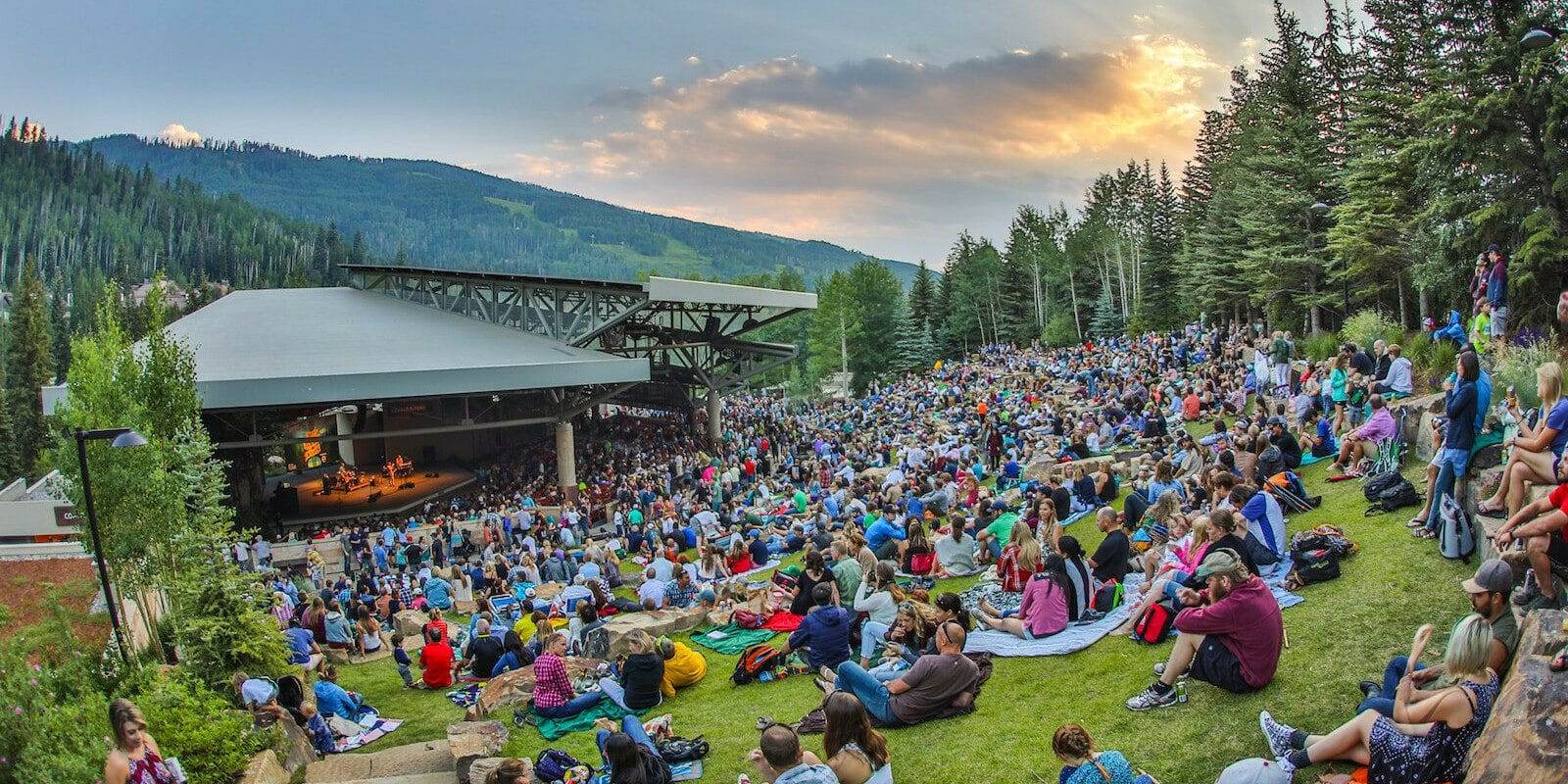 Image of the Gerald R Ford Amphitheater in Vail, Colorado
