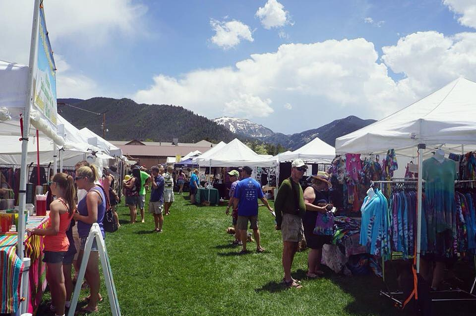 Image of the Grand Lake Arts and Crafts Festival