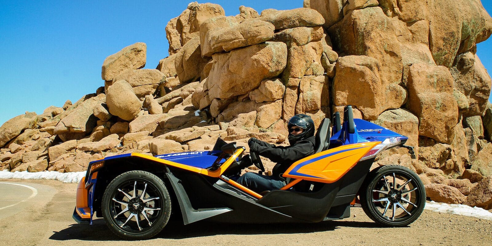 Image of a Slingshot in Colorado