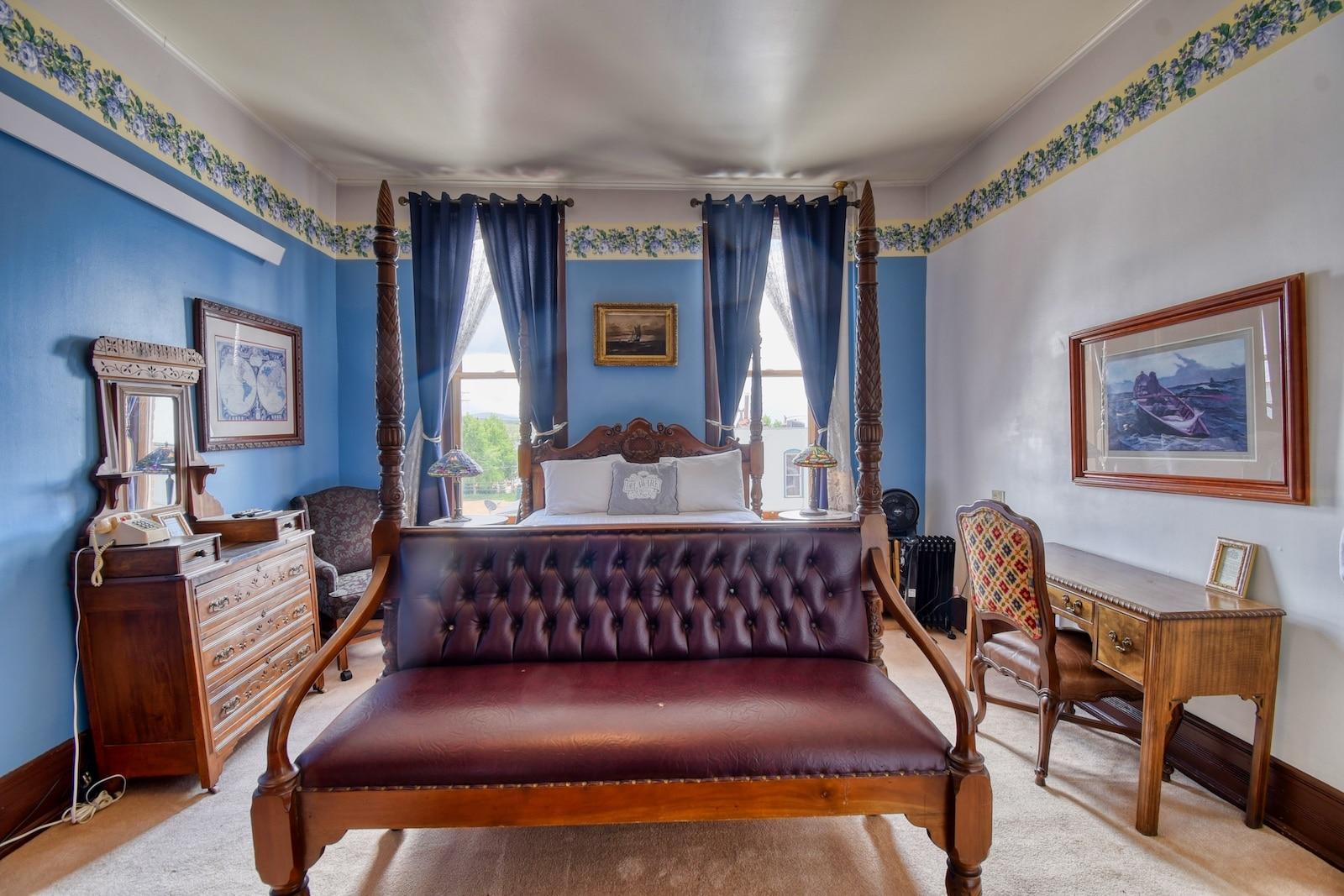 Delaware Hotel Room Leadville