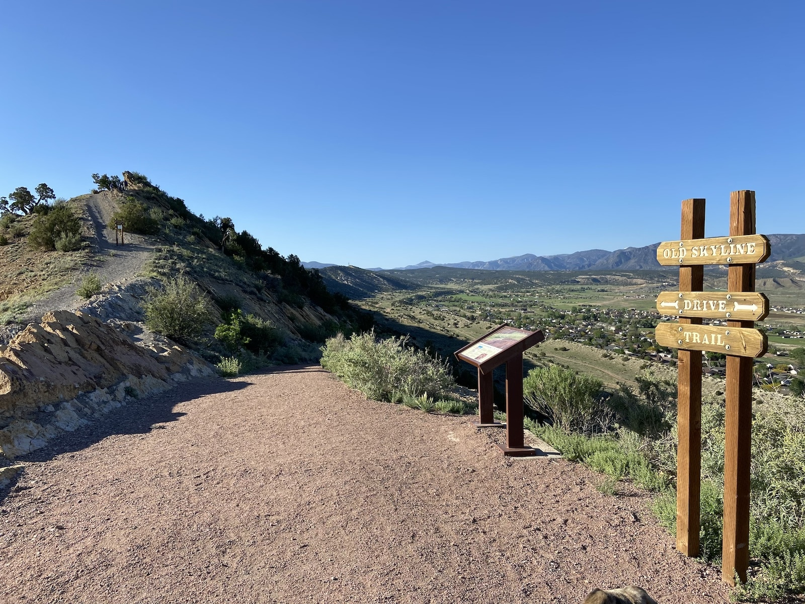 Old Skyline Drive Trail Hogback Open Space Canon City
