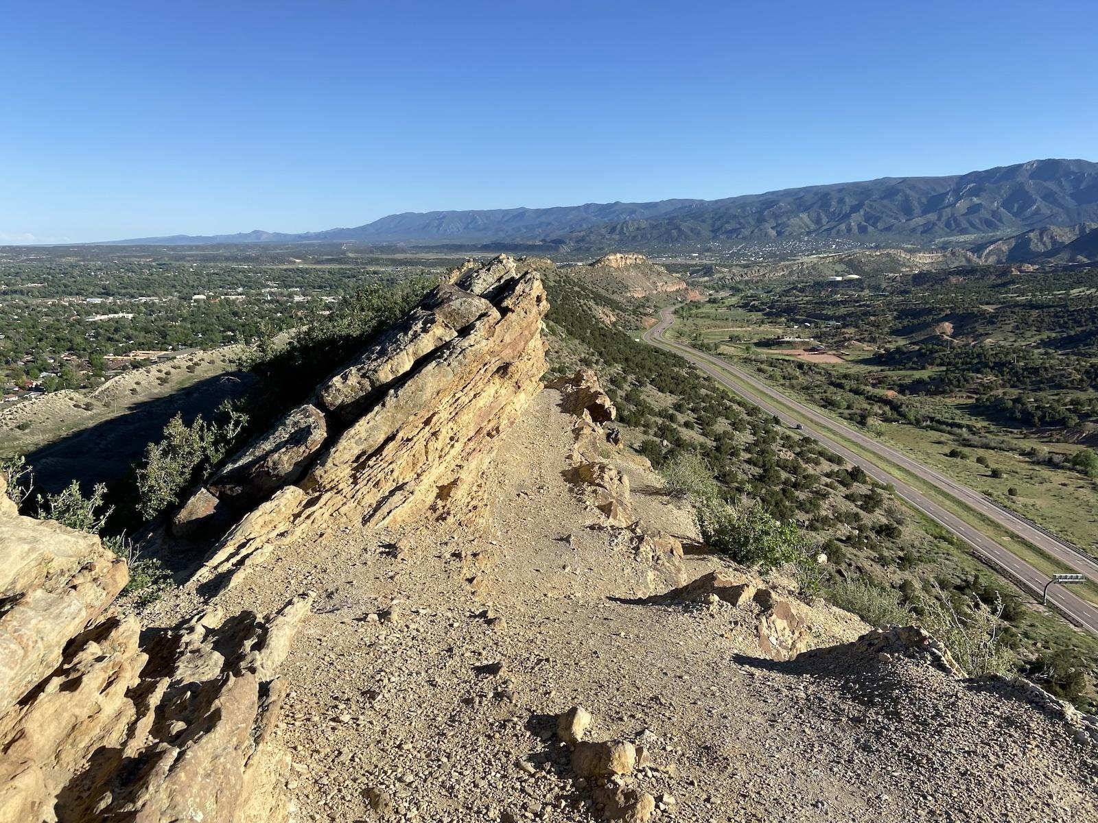 Hogback Open Space Ridge Trail