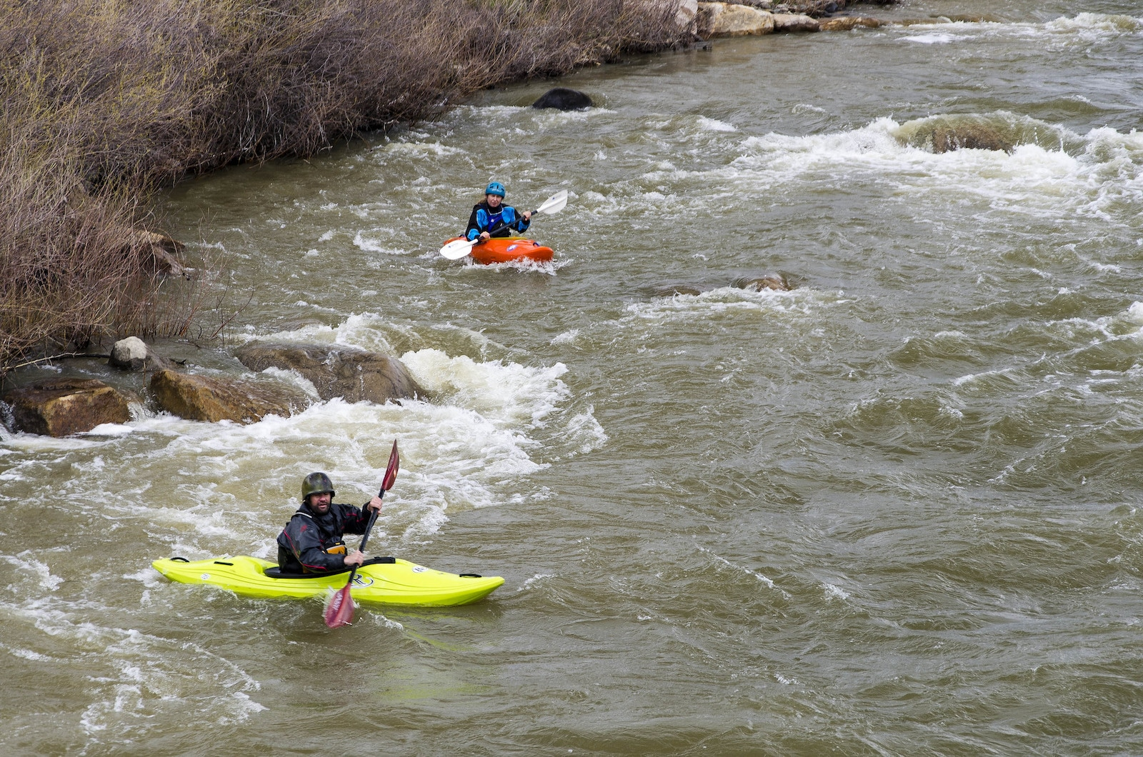 Image of kayakers in Pagosa Springs, Colorado