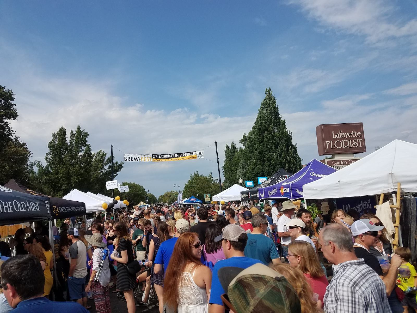 Image of the Lafayette Brew Fest