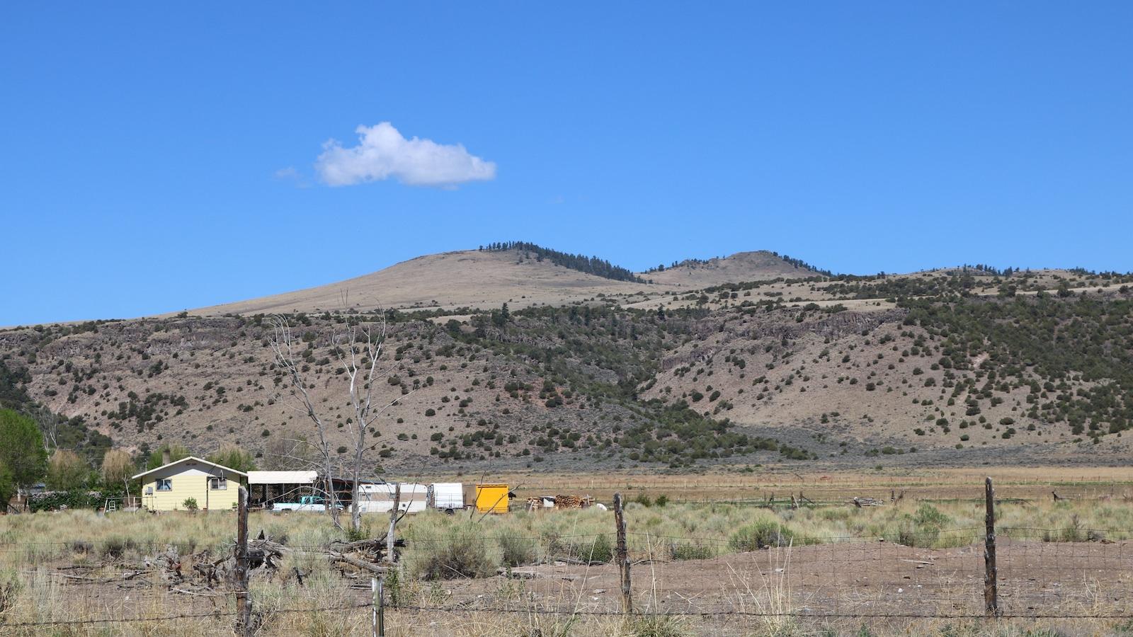 Los Mogotes Shield Volcano Conejos County CO