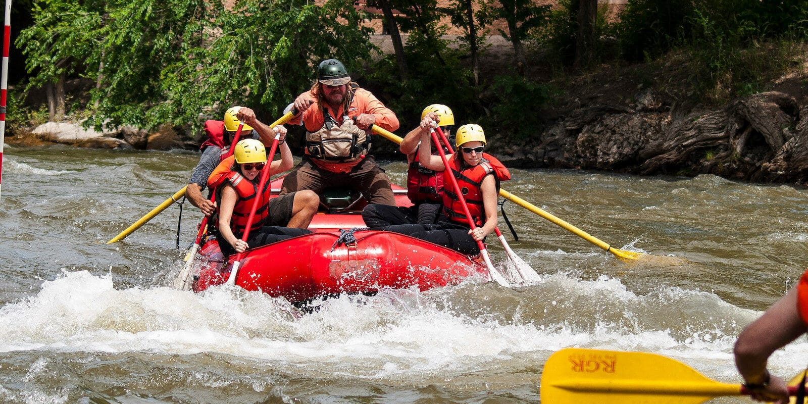 Image of rafters at the Royal Gorge Whitewater Festival in Canon City, Colorado