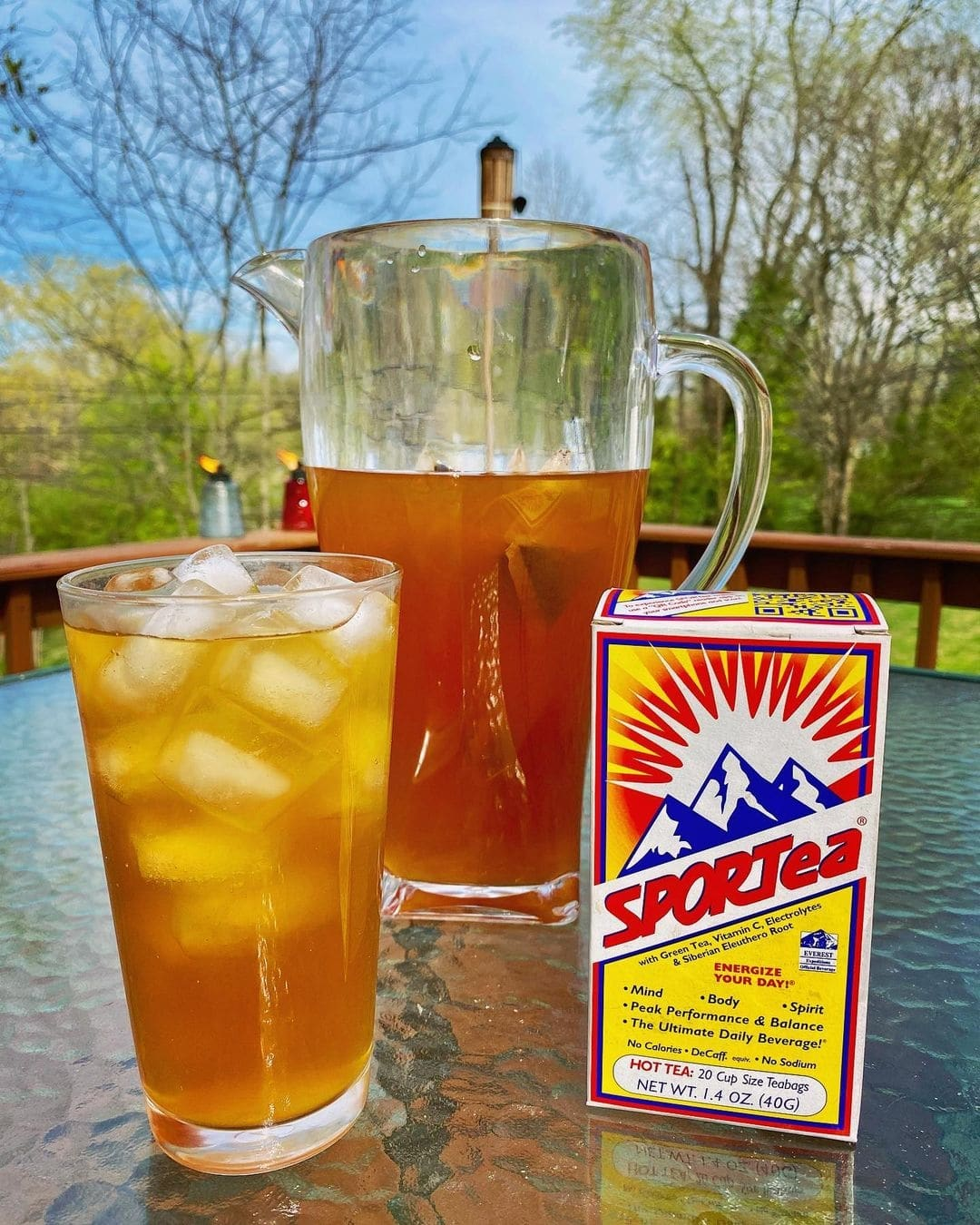 Image of a picture of ice cold SPORTea