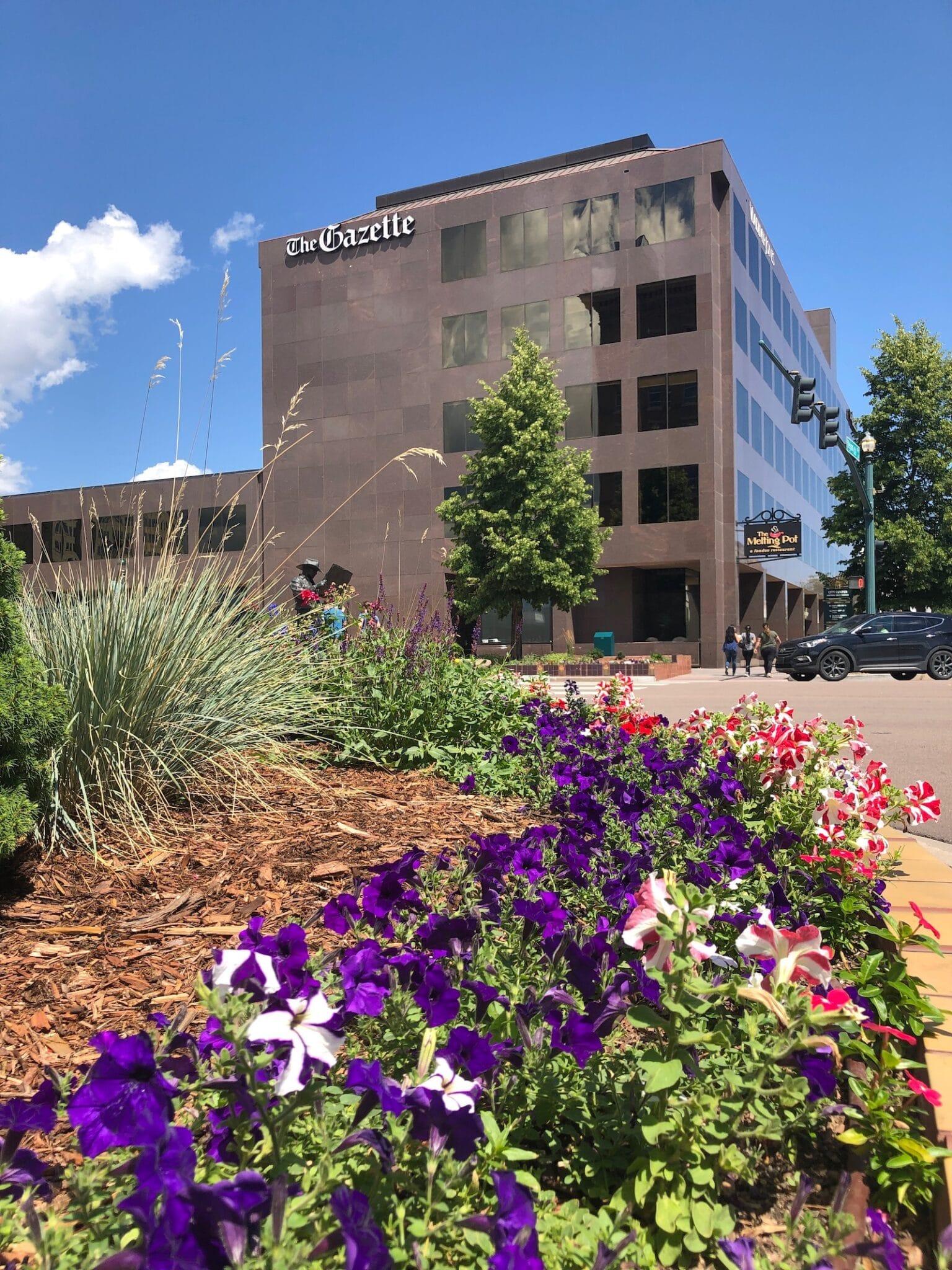 The Gazette Newspaper Building Colorado Springs