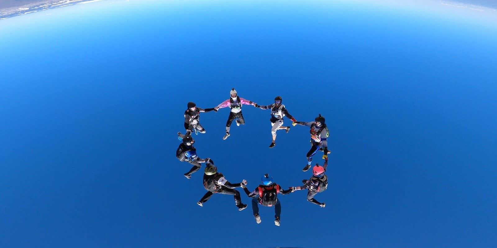 Image of Ultimate Skydiving Adventures skydivers in Colorado