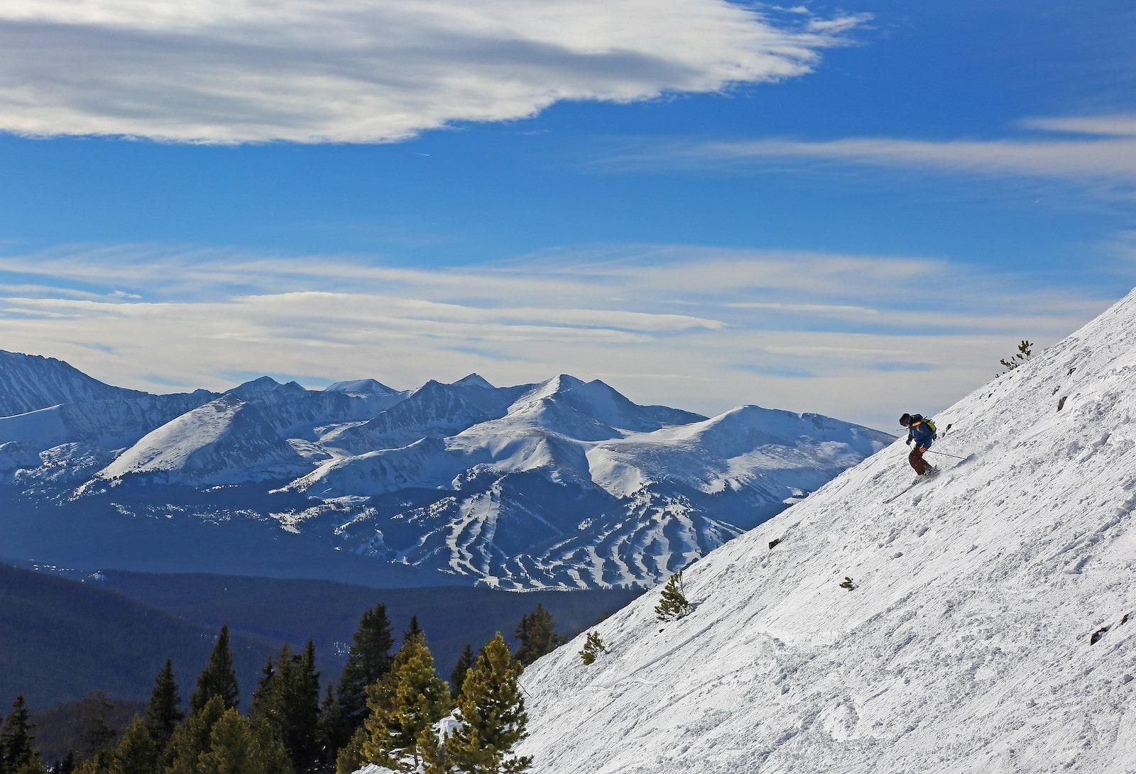 Skiing at Keystone Resort, CO