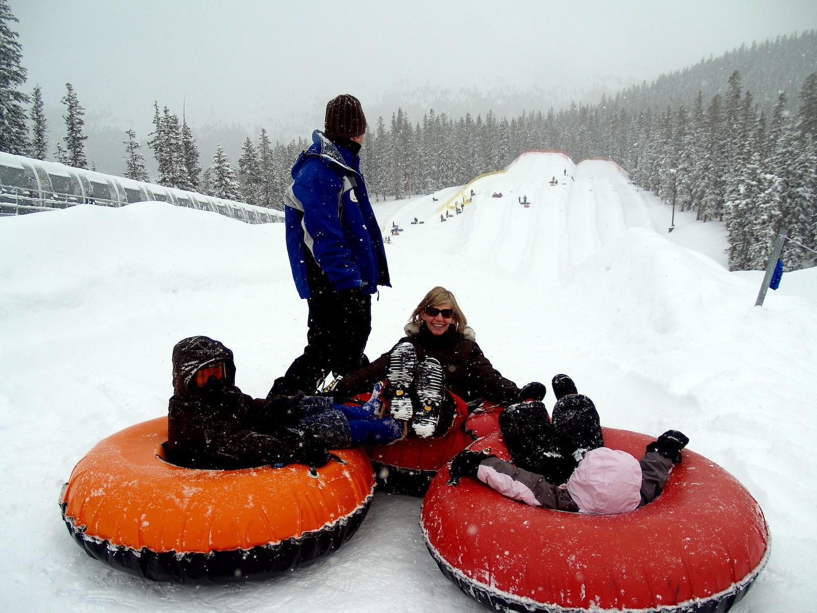 Snow tubing Keystone Resort
