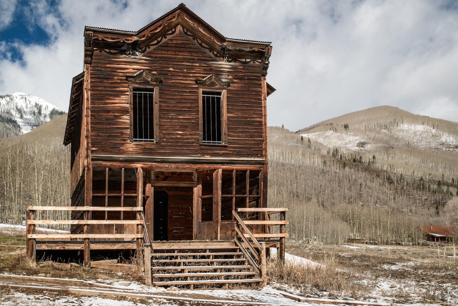 Ashcroft Ghost Town near Aspen CO