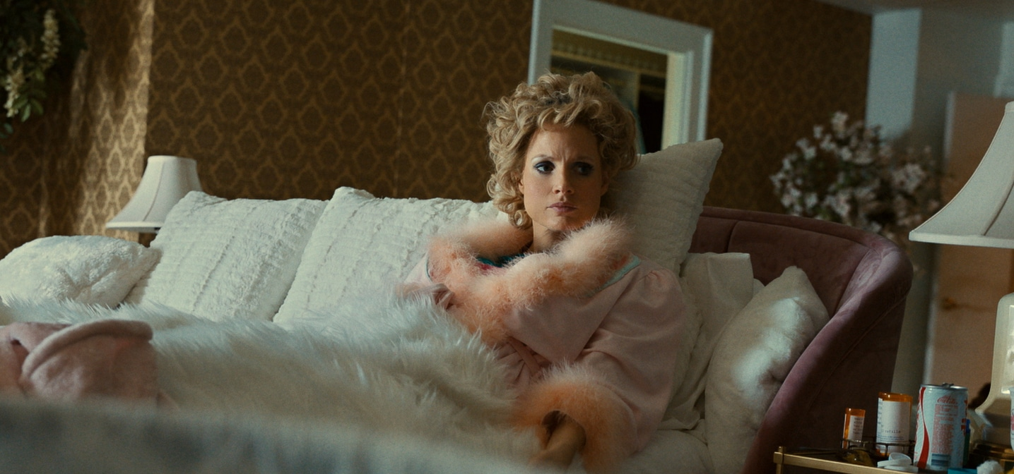 Still from the film The Eyes of Tammy Faye