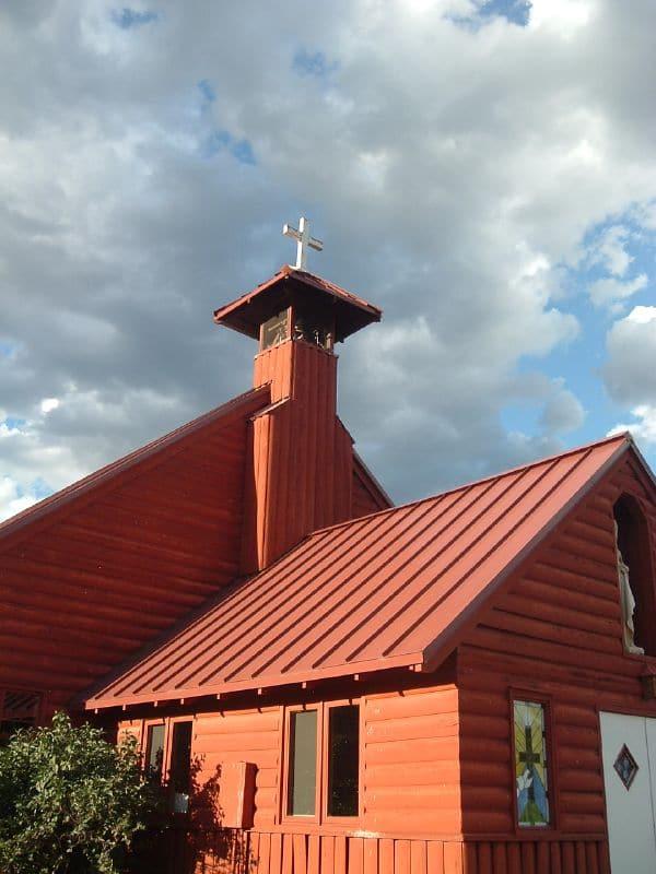 Buffalo Creek CO Red Catholic Church
