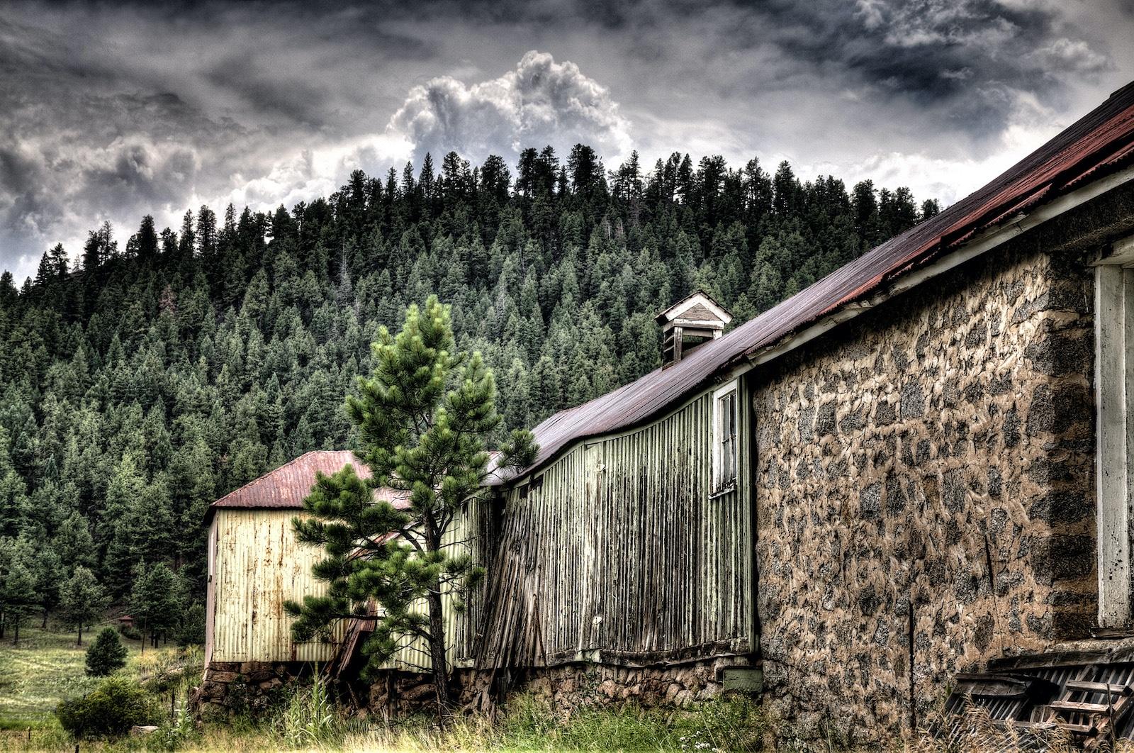 Buffalo Creek Colorado Old Barn