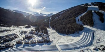 Image of the tubing hill in Copper Mountain, Colorado