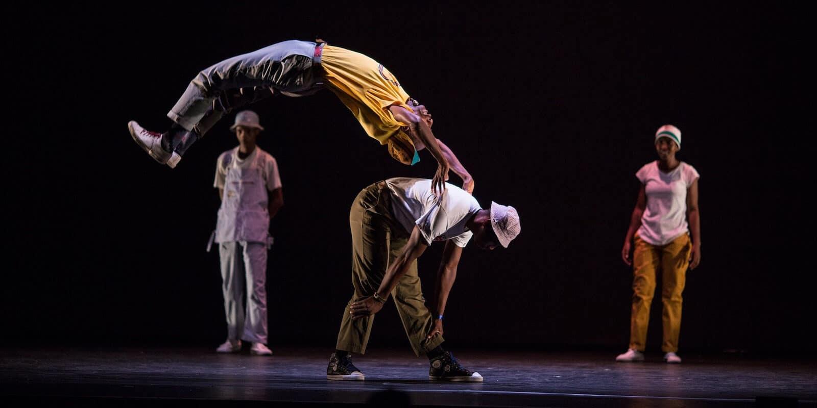 Image of dancers performing at Denver Arts Week in Colorado