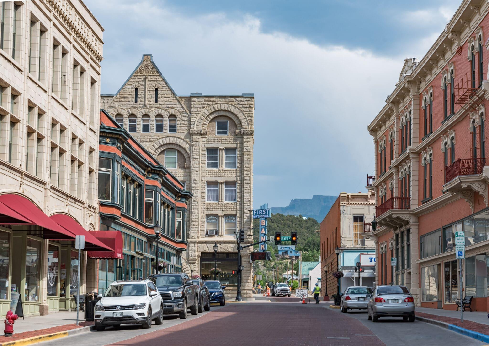 image of downtown Trinidad