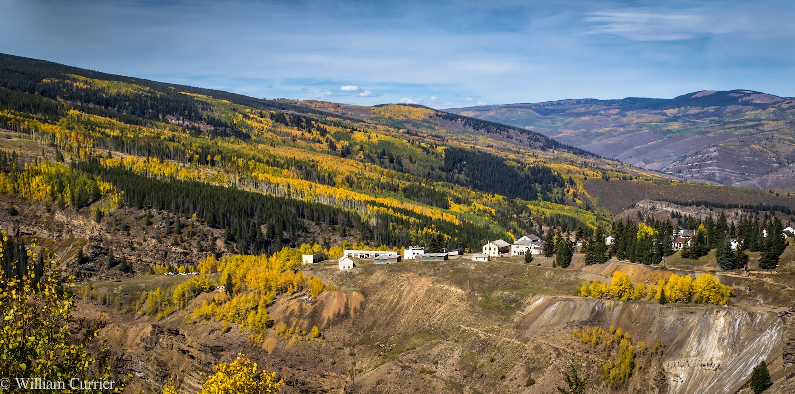 Gilman ghost town near Vail CO