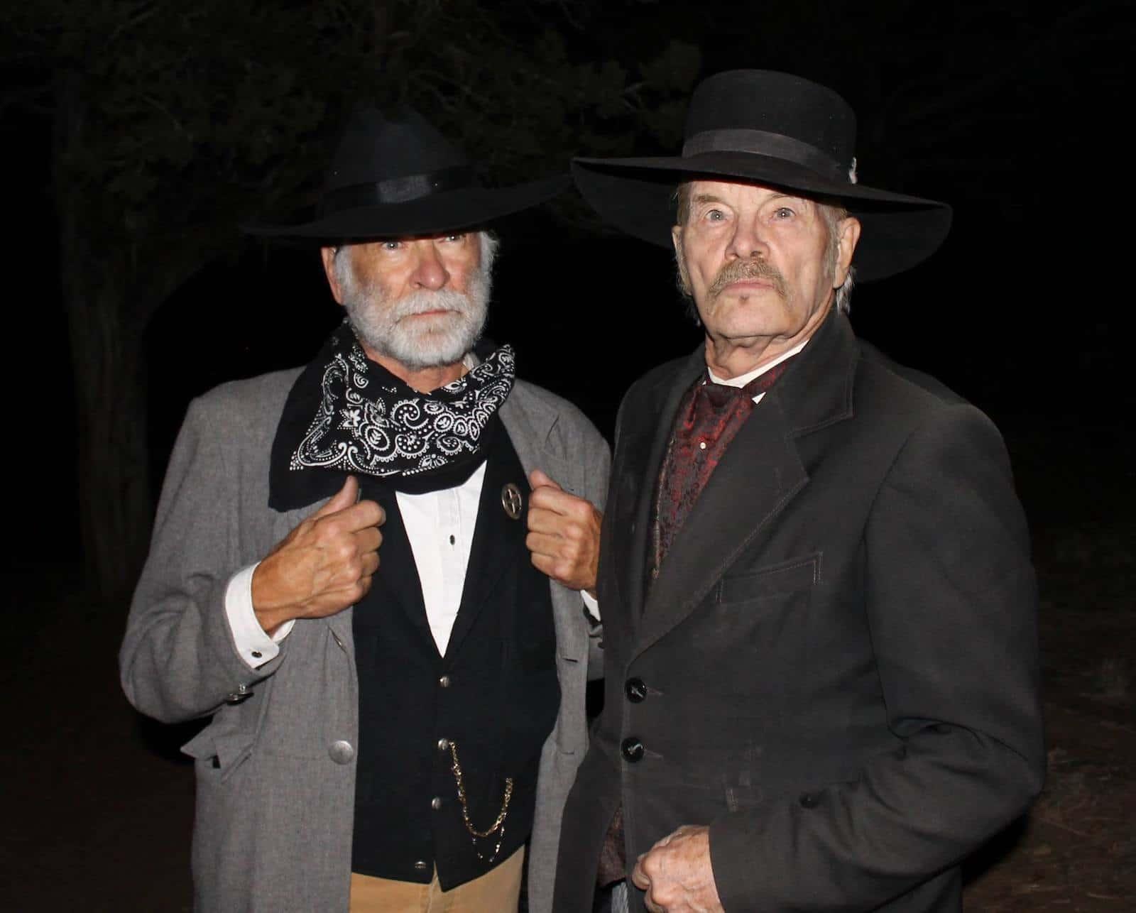 Image of actors at the Ghost Walk in Glenwood Springs