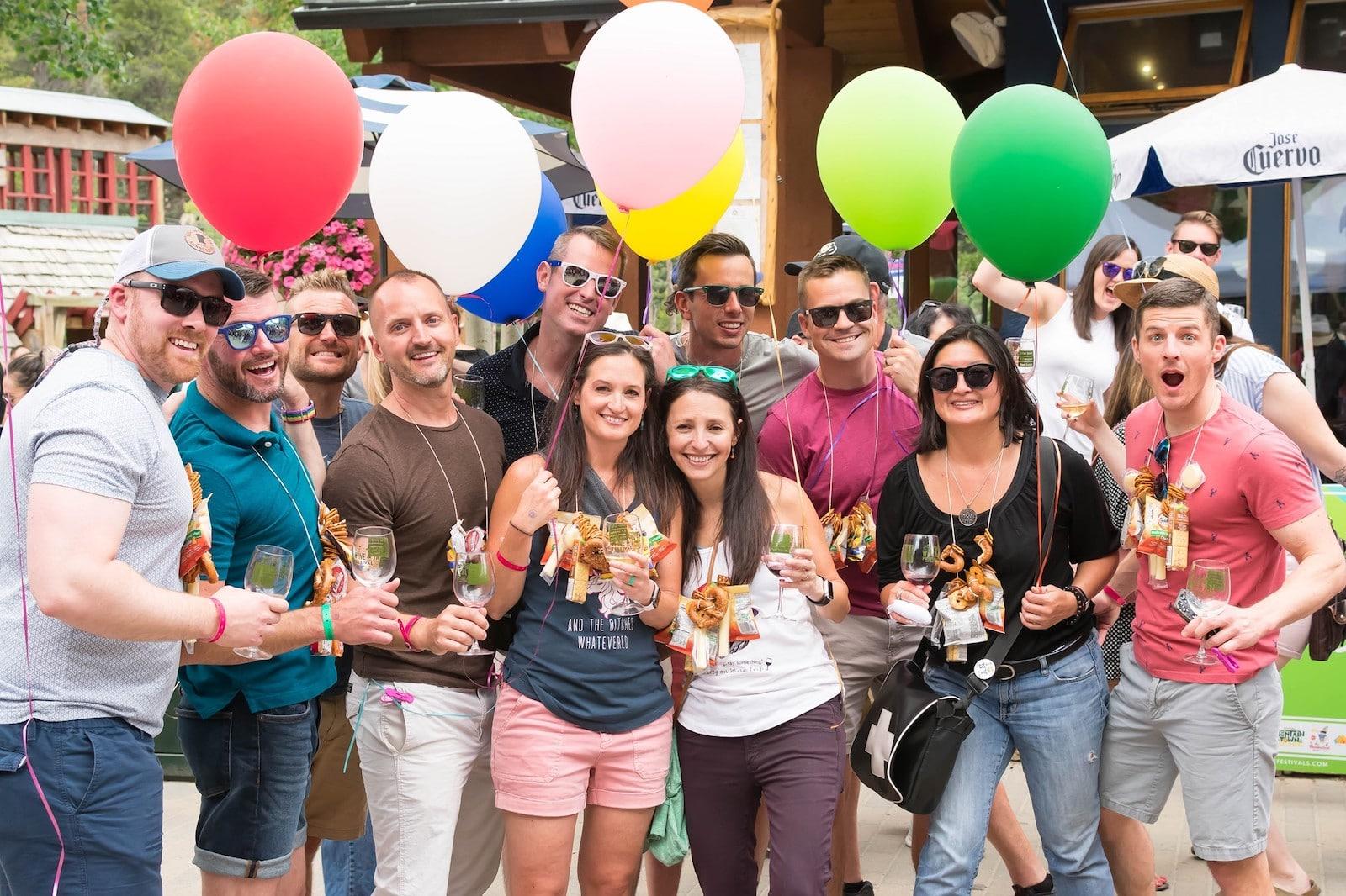 Gambar orang di Keystone Wine and Jazz Festival di Colorado