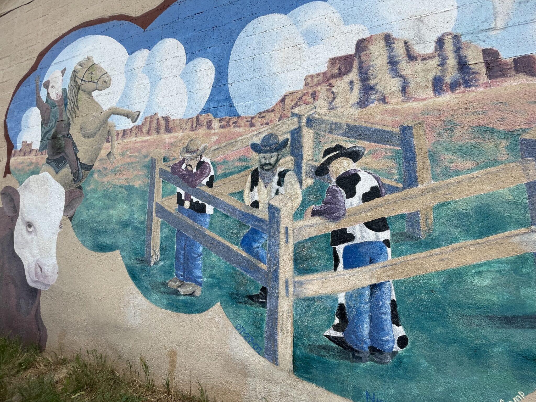 gambar mural di la veta
