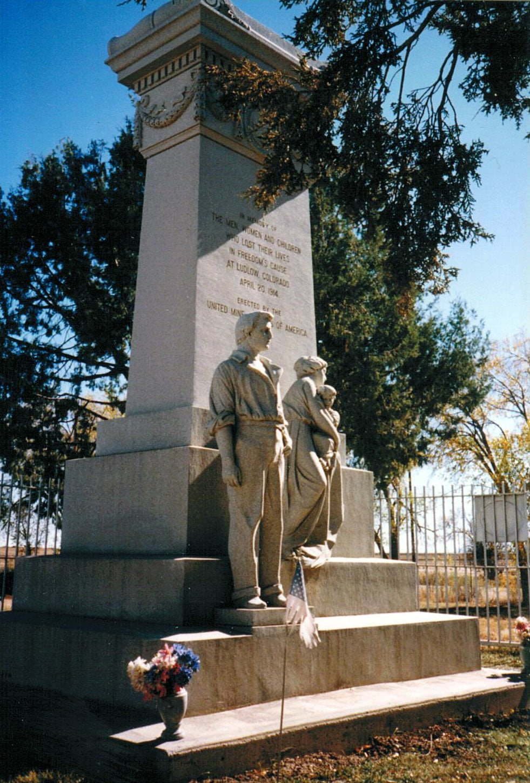 image of ludlow massacre memorial