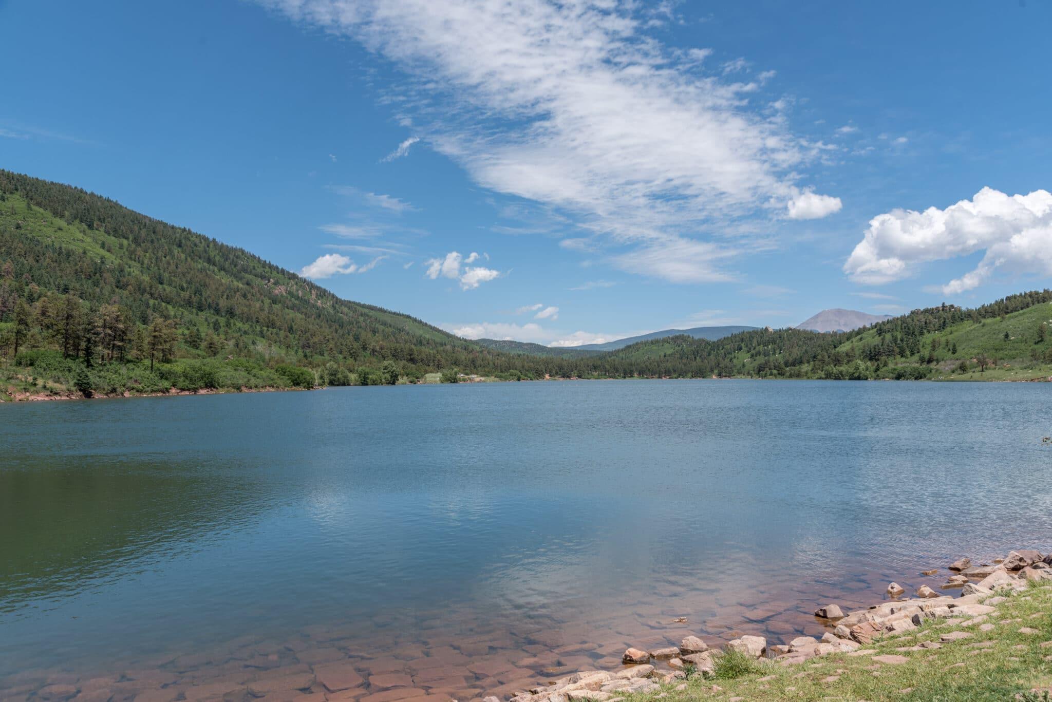 image of monument lake resort