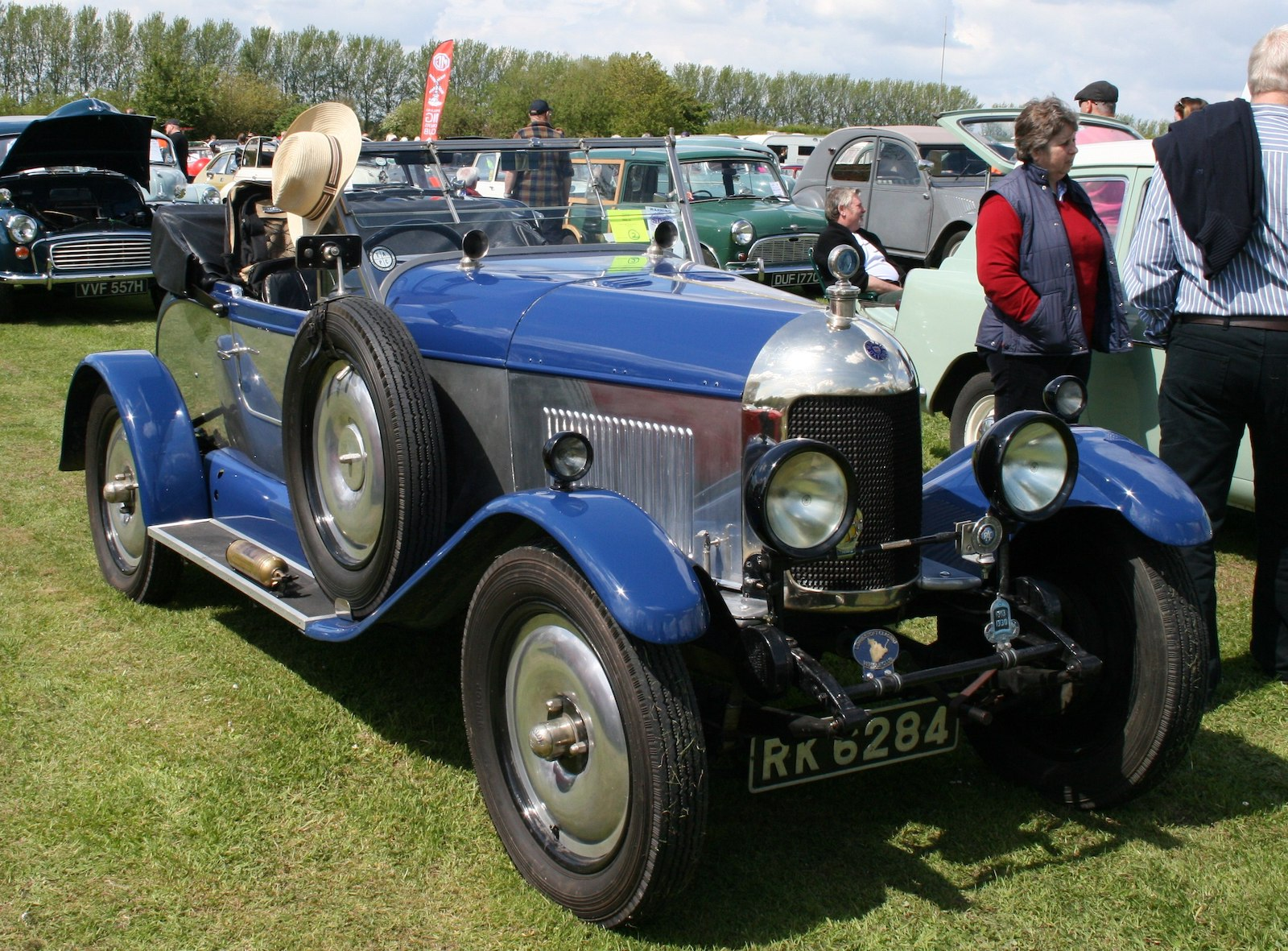 Image of a Morris Oxford 1926