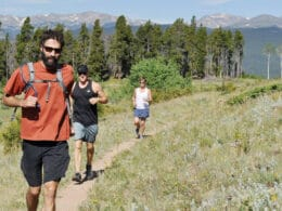 Image of people running at Ned*Ned in Nederland, Colorado
