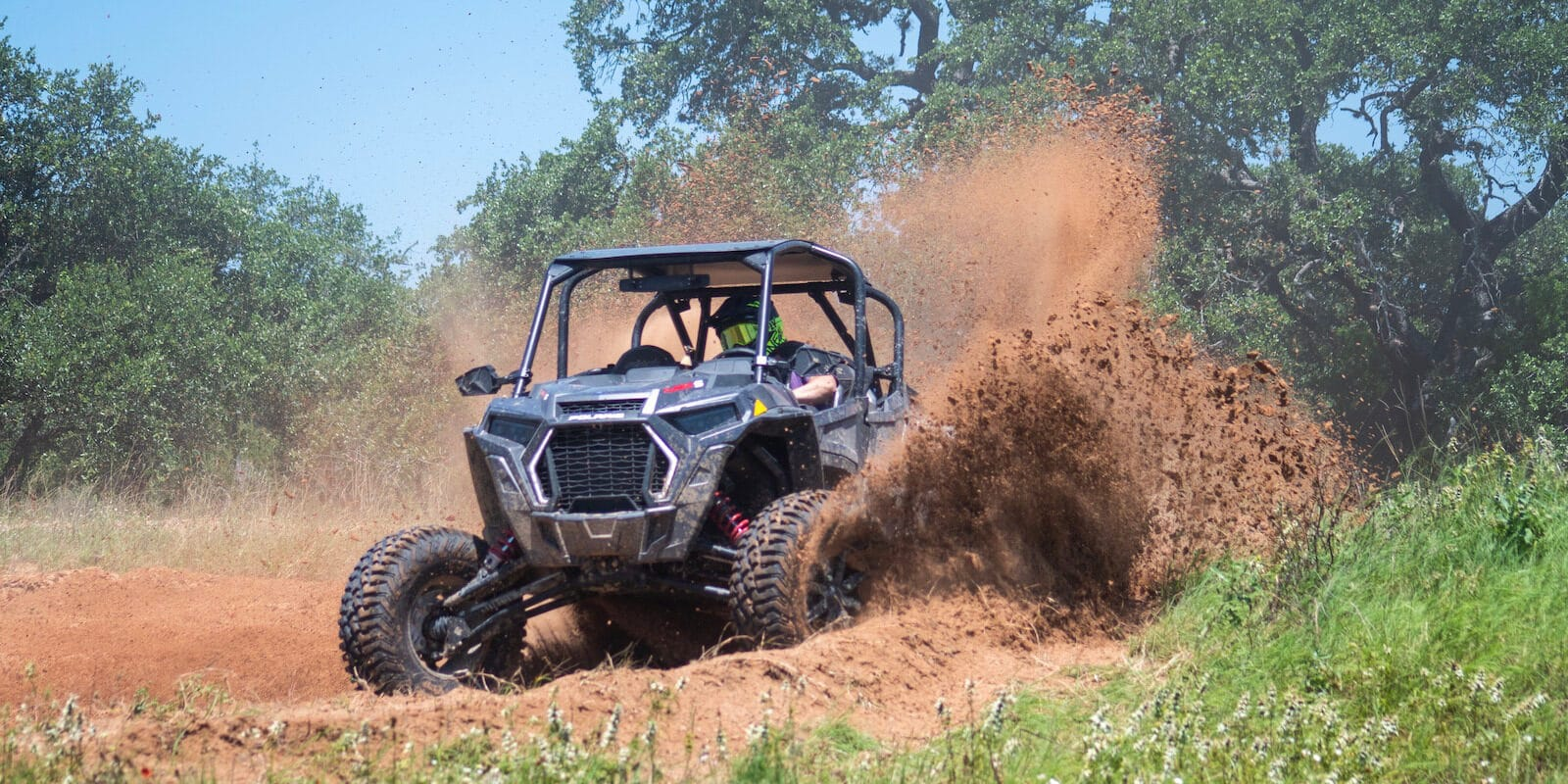 Image of a Polaris RZR from San Juan side by Sides in Pagosa Springs, Colorado