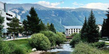 image of scenic copper mountain