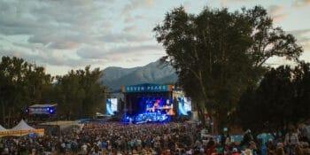 Image of the Seven Peaks Festival in Buena Vista, Colorado