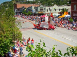 Image of the 4th of July Parade in Steamboat Springs, Colorado