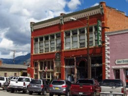 Image of the exterior of the Teller House Hotel in SIlverton, Colorado