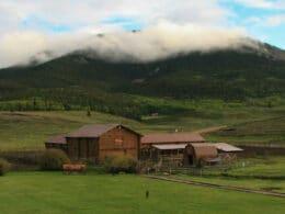 The Waunita Hot Springs Ranch property in Gunnison, Colorado