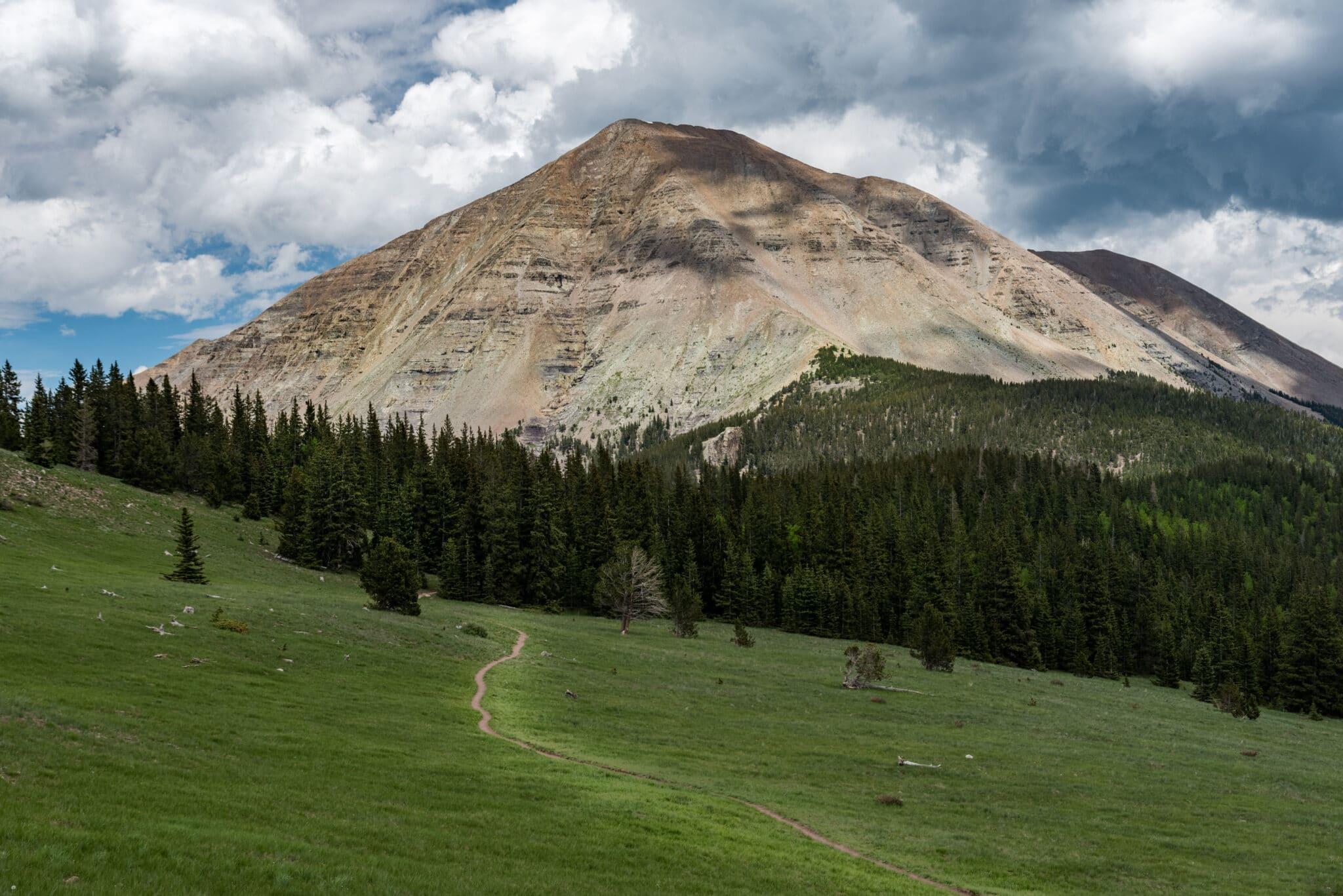 image of west spanish peak trail