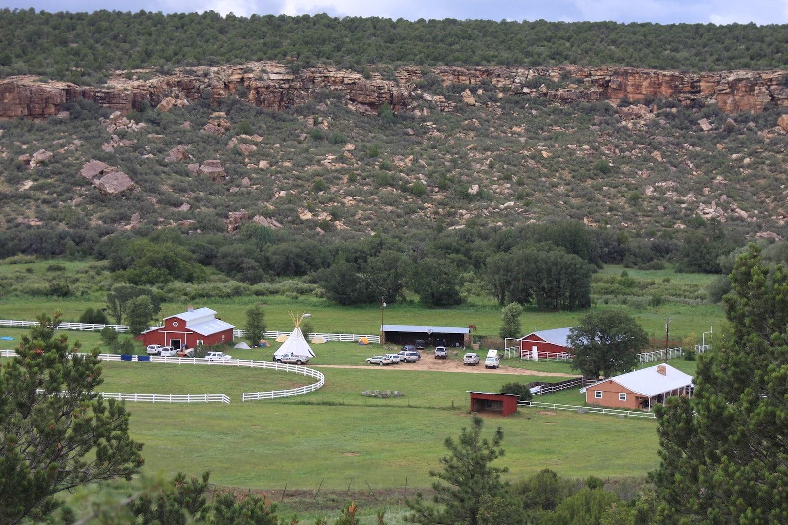 Image of the Wind River Ranch in Estes Park, Colorado
