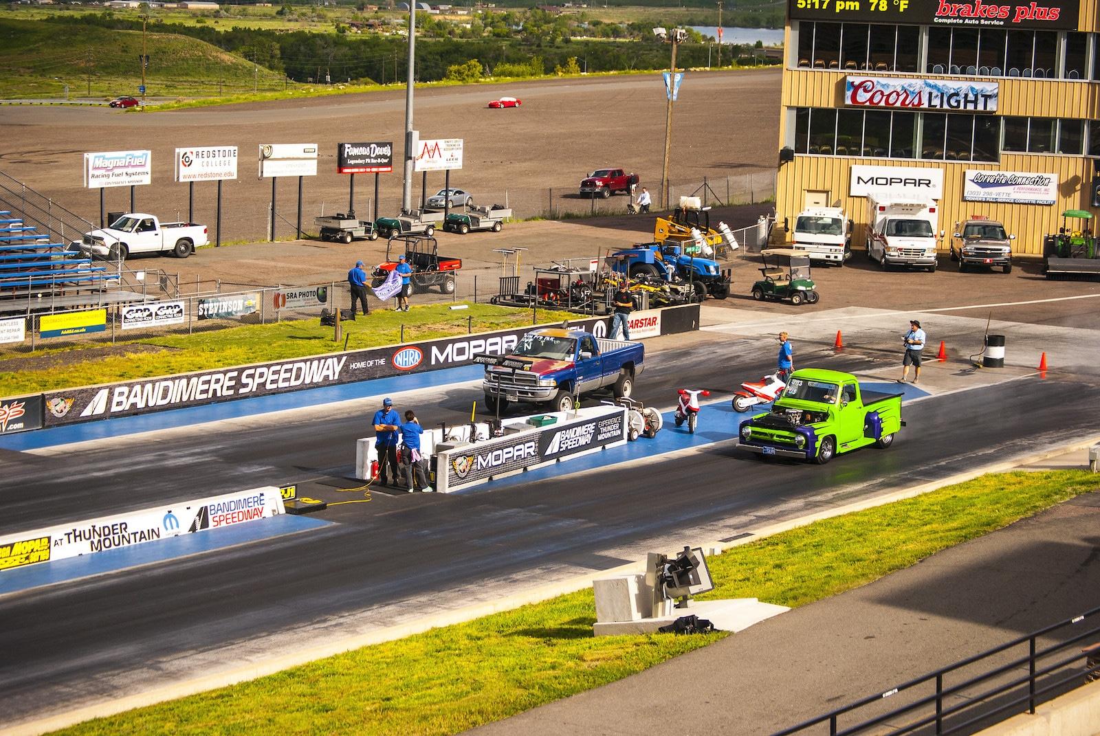 Bandimere Speedway, Colorado
