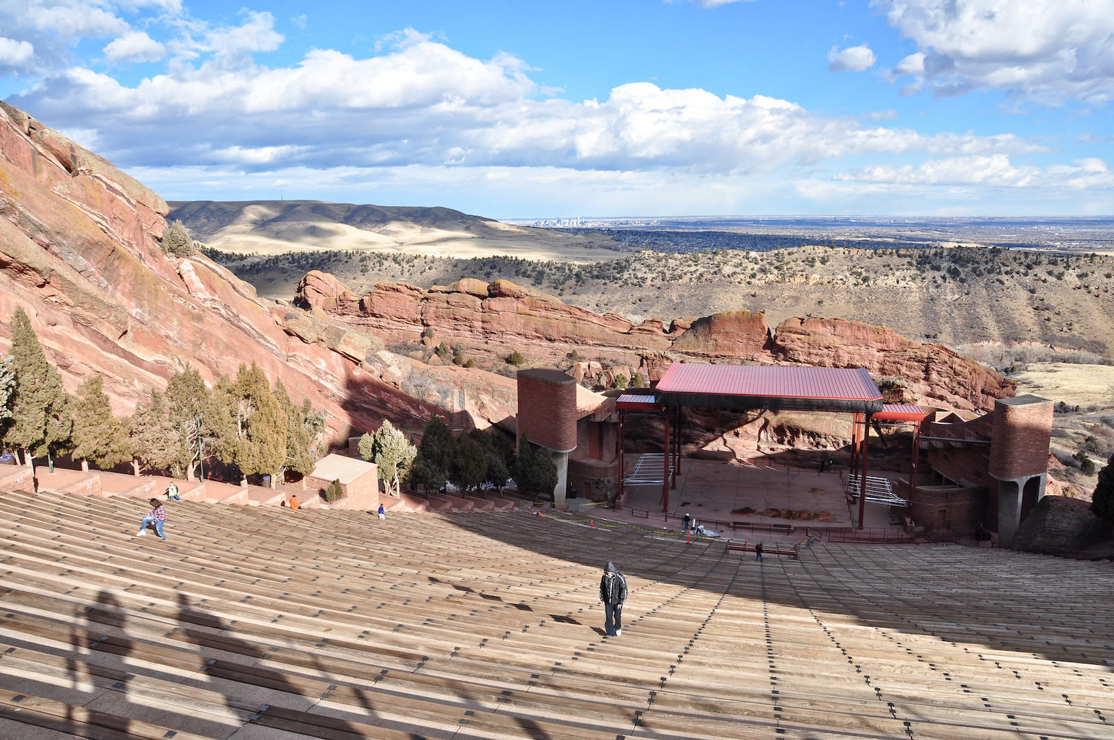 Taman & Amfiteater Red Rocks, CO