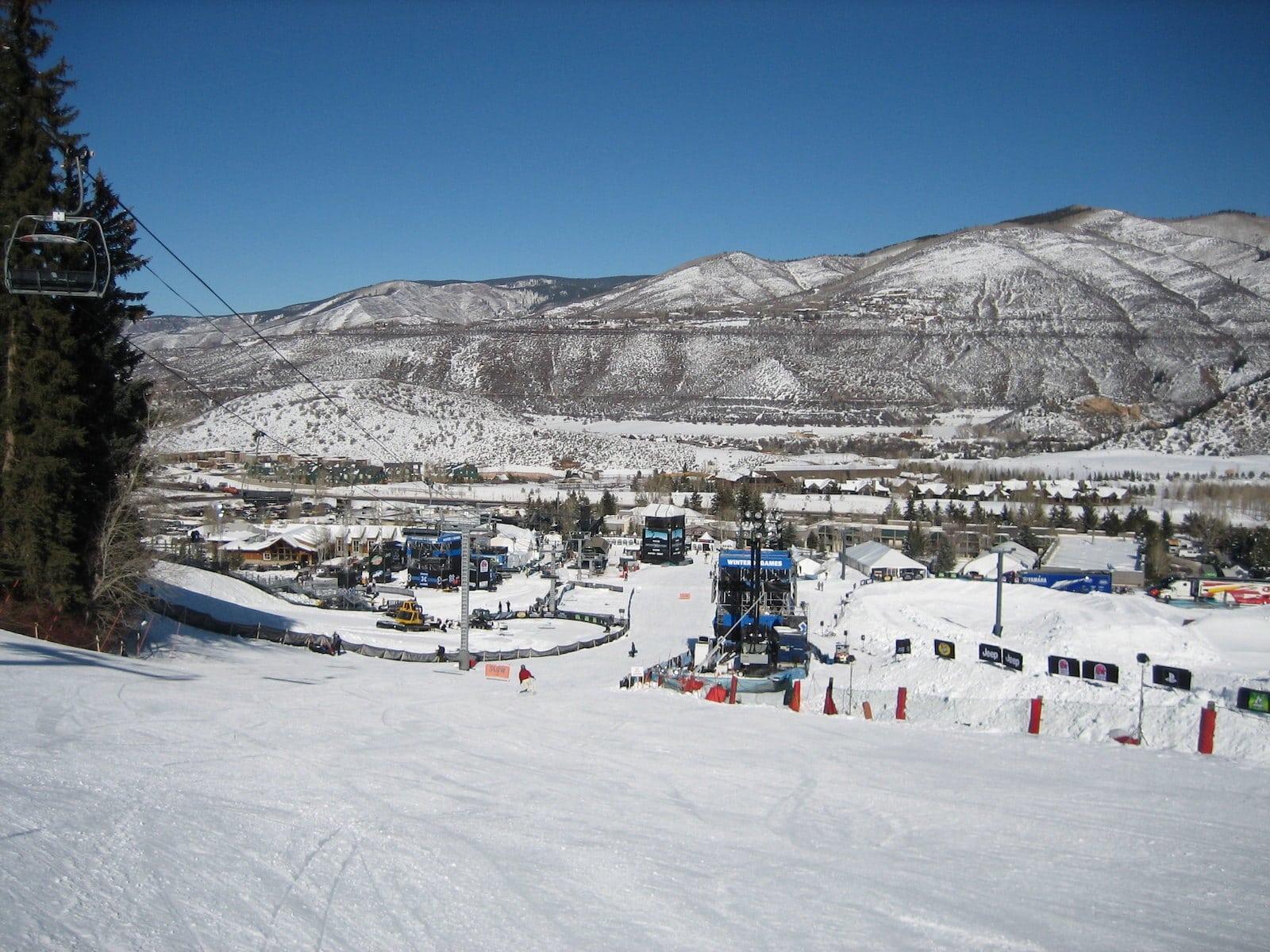 Image of Buttermilk Mountain in Aspen, Colorado
