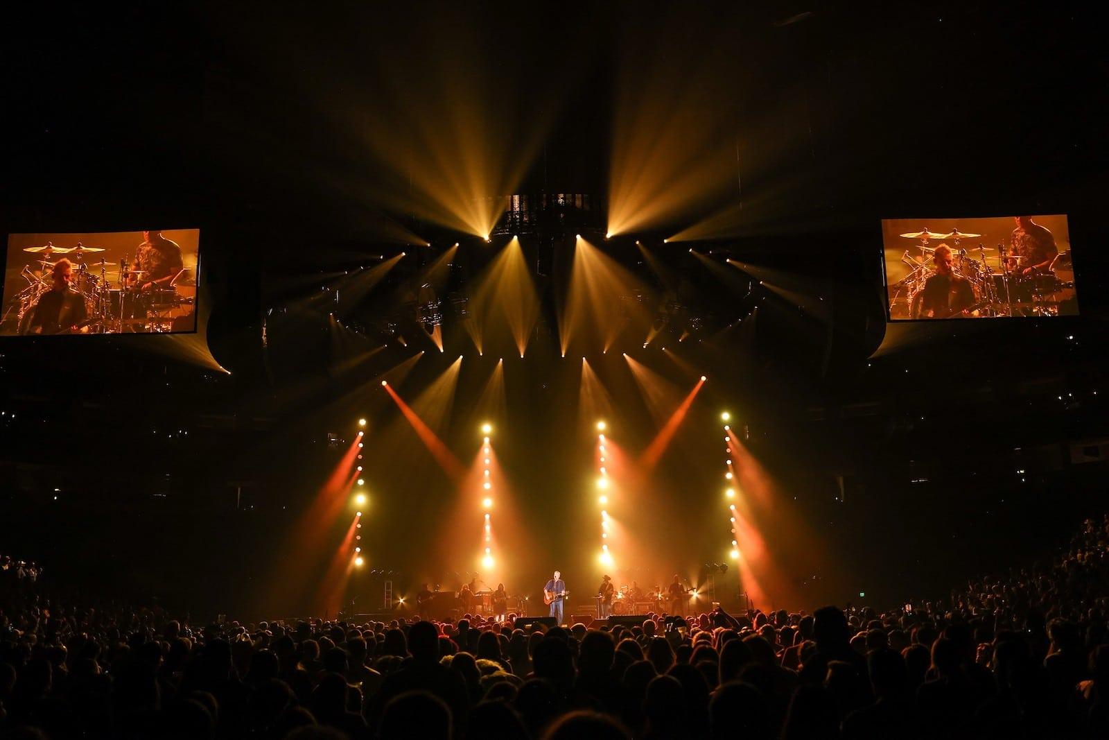 Image of a concert at Ball Arena in Denver, Colorado