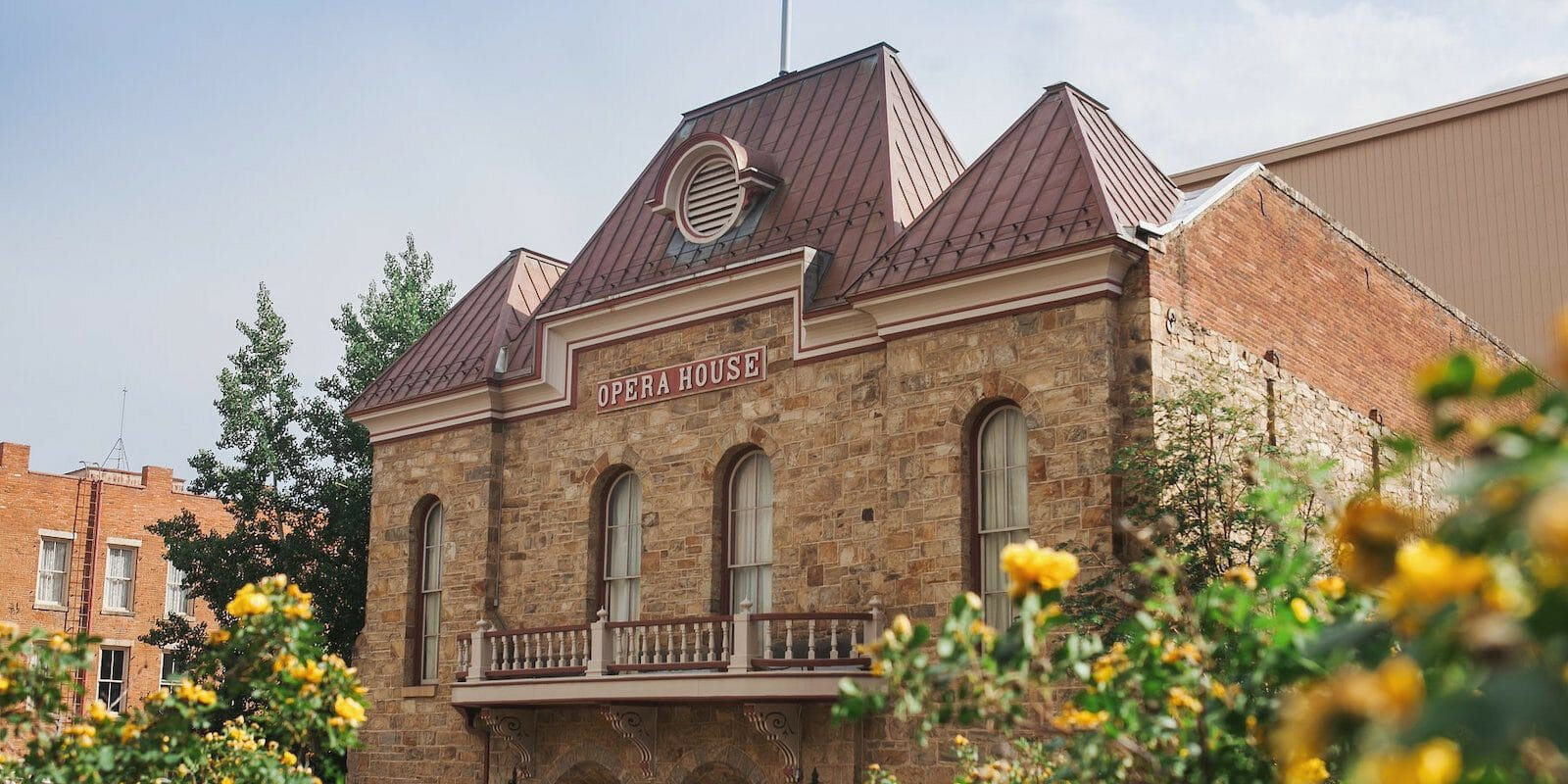 Image of the Central City Opera in Colorado