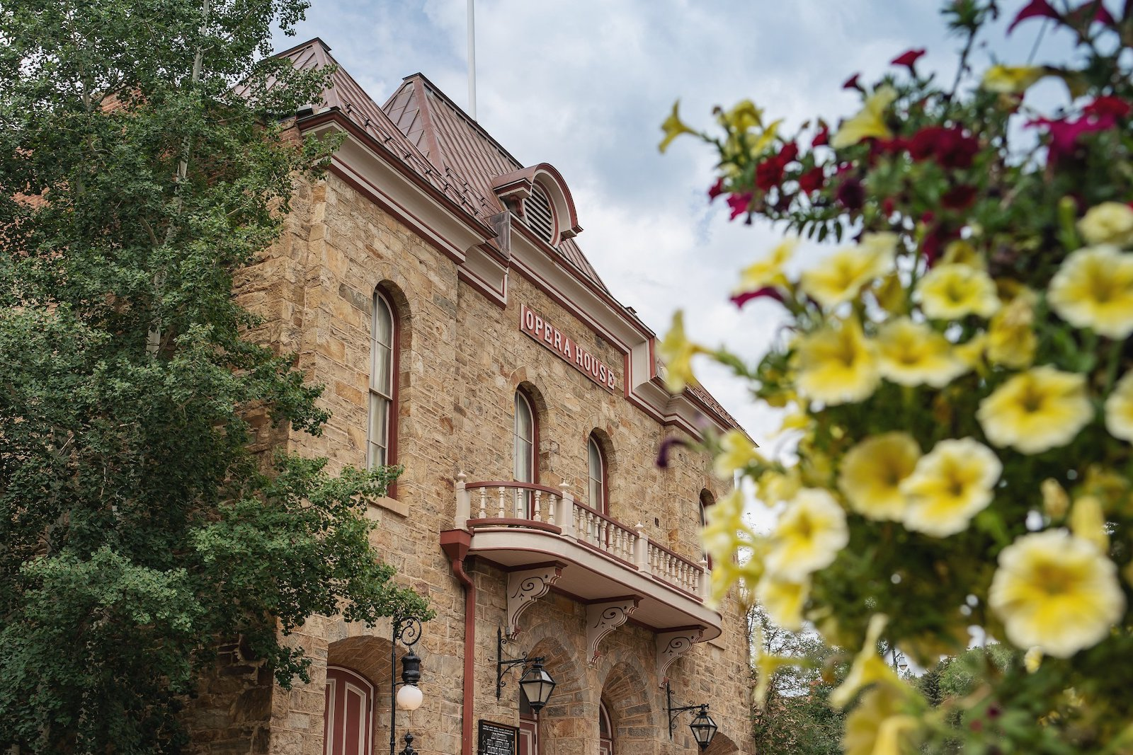 Image of the Central City Opera House in Colorado