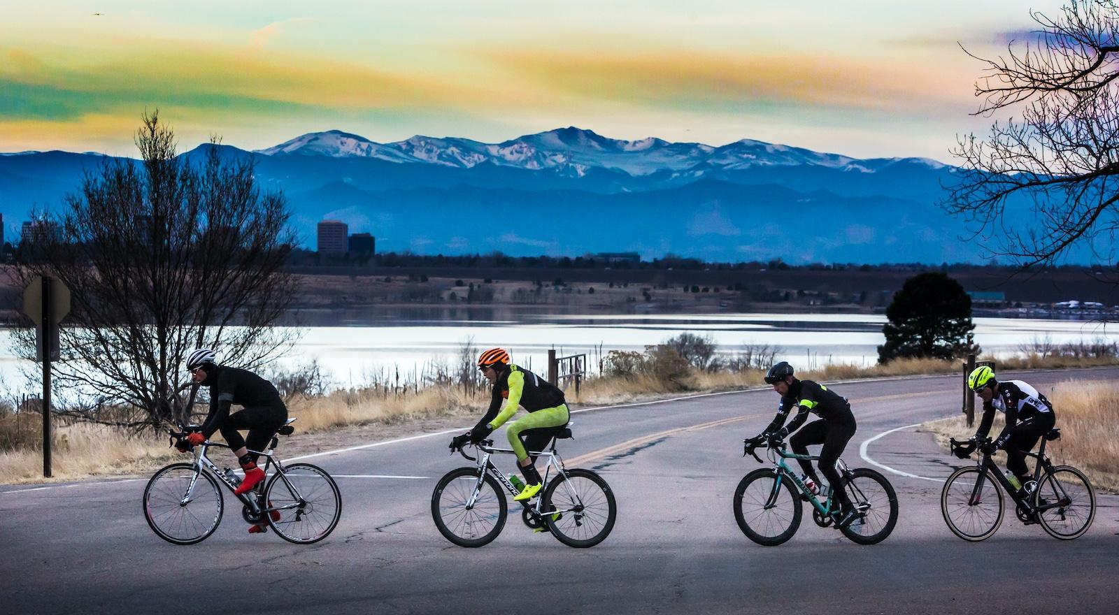 Cherry Creek Biking Trail near Denver CO